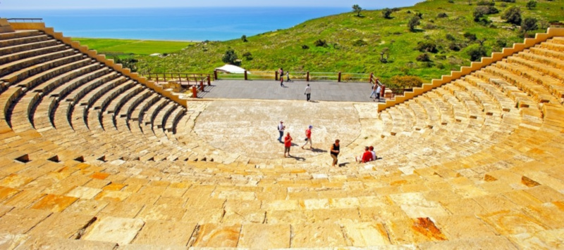 Ancient Theatre at Kourion, Cyprus © VisitCyprus